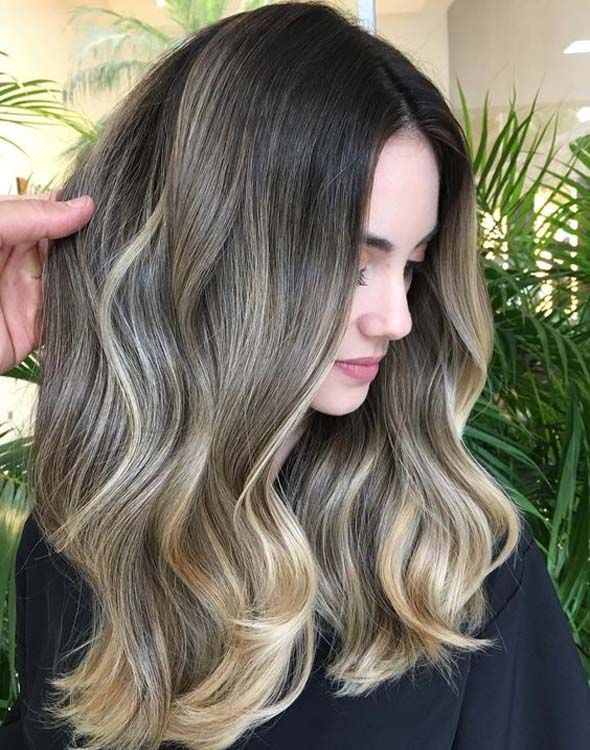 Light brown hair colors that will take your breath away Golden Light Brow …