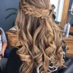 Shiny Half Up Half Down Wedding Hairstyles for 2019