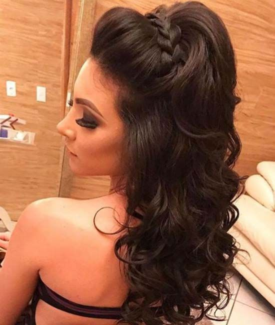 The long and outstanding dance hairstyles 2019 to look sexy and elegant