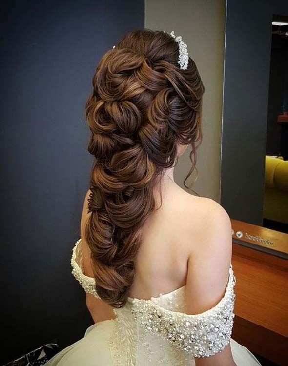 The Most Beautiful Wedding Hairstyles Womens Style