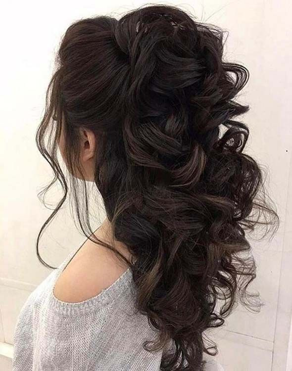 There are so many beautiful ideas of Half Up Half Half Down Wedding Hairstyles.