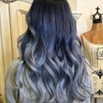Trend for silver and gray hair.