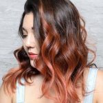 Beautiful color and beautiful Rach Hair style mix