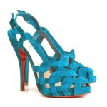 Christian Louboutin summer high heels sandals