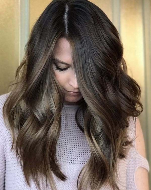 Cute hairstyles in layers and cuts for long hair