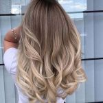 Layered blond hairstyle ideas 2019 smoky different trends impressive