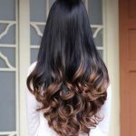 Long wavy synthetic hair style for women