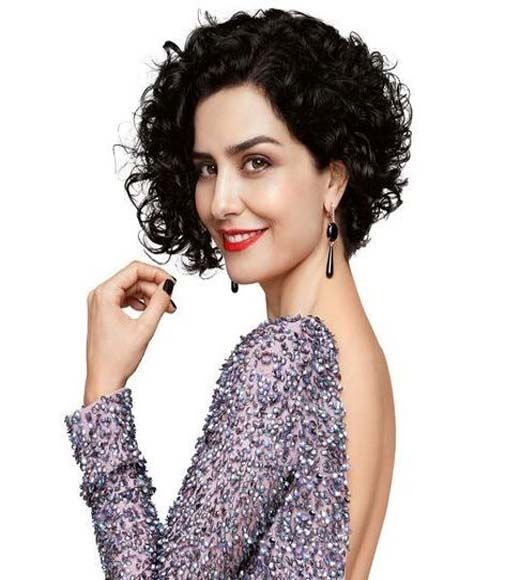 Naturally Curly Beauty Short haircuts for curly hair are fun,