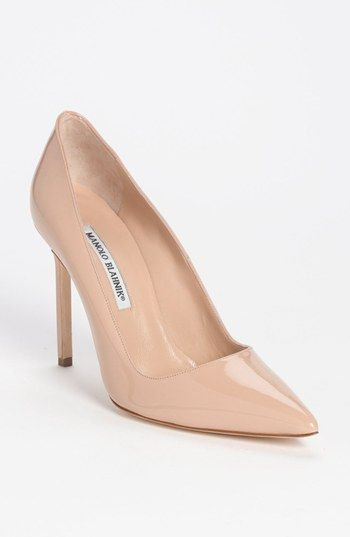 Pointed Toe Pump Manolo Blahnik & # 39; BB & # 39; available in # …