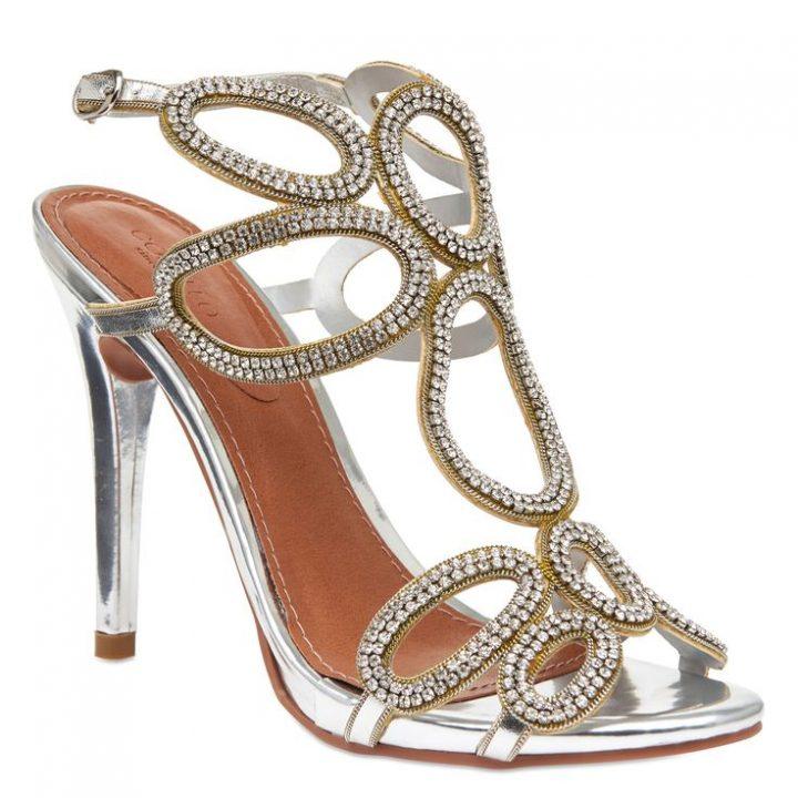 Sandal Glam Trims & Strass – Metallized | Sa …