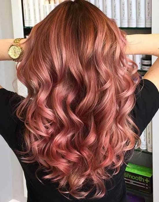 Stunning hair color trends for girls
