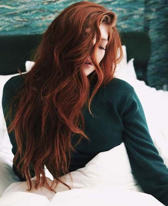 The best color ideas of ginger red hair for 2019