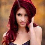 We have chosen the most crazy red hair color of popula for you to rock this winter