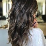 Brown hair with blond highlights that enhances the personality of each woman.