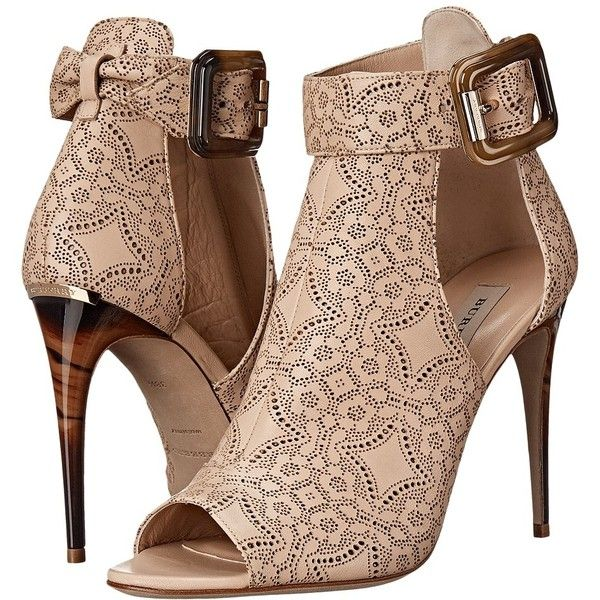 Burberry Canbury LC (Antique Taupe Pink) high heel …
