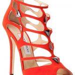Jimmy Choo Orange Sandal