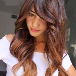 We have rounded the best styles of long hairstyles with a beautiful hair color of balayage