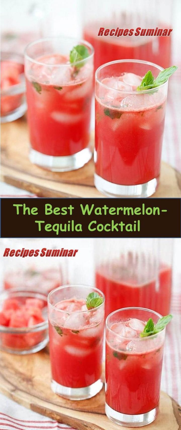 ★★★★★ 877 Comments Recipe Suminar ==> Watermelon and tequila cocktail Recipe # Watermelon and tequila # Cocktail # Recipe Watermelon and tequila cocktail: refreshing and surprising cocktail recipe with fresh watermelon, tequila, lime juice and mint, It takes 15 minutes.