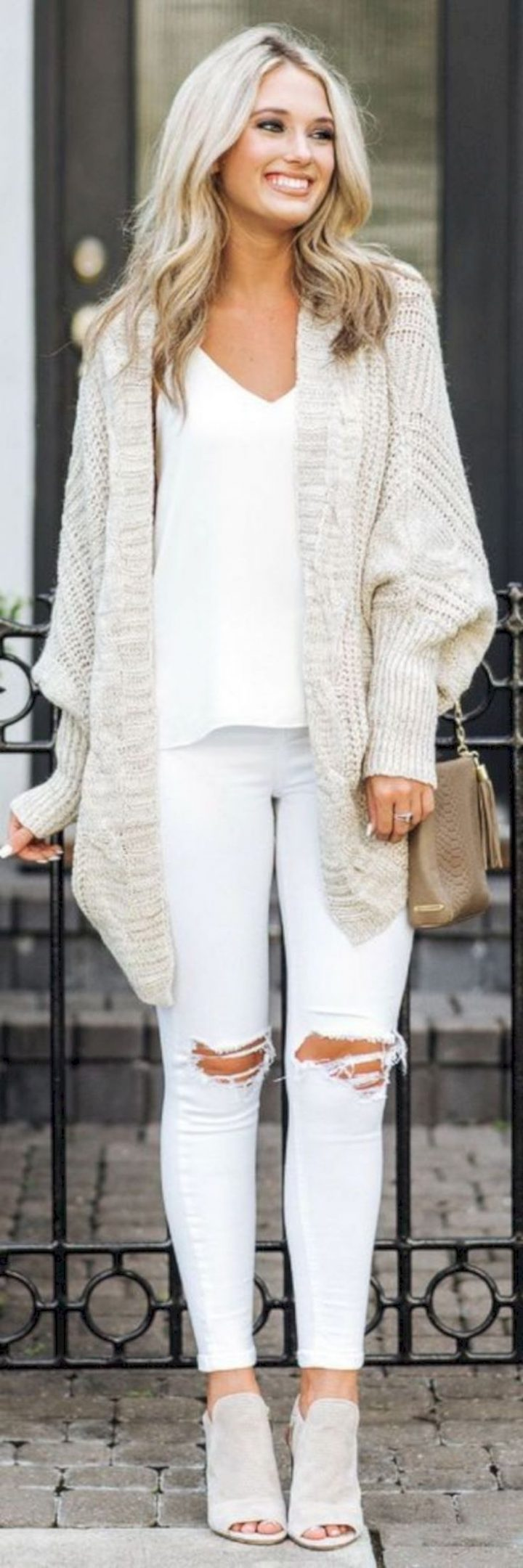 40 All ideas of white clothes for women