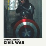 ALTERNATIVE POSTERS OF THE MOVIE OF THE TRILOGY OF CAPTAIN AMERICA …