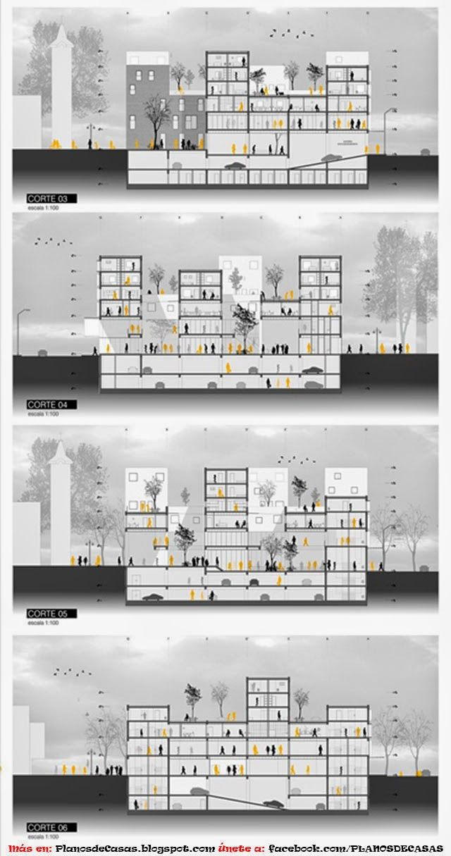 CONDOMINIUM PLANS OF A HYBRID ARCHITECTURE