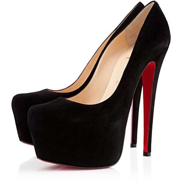 Christian Louboutin Narcissus 160mm Black Suede …