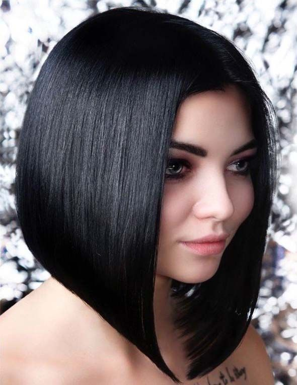 Classic and fashionable variations of a bob haircut.