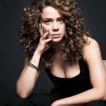 Curly hair styles up to the shoulder can be nice or elegant,