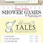 Free printable baby shower set – Tales of old women