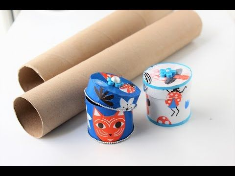 GIFT BOX. JEWELRY BOX WITH EMPTY PAPER ROLLS. BETTER WITHOUT WASTE. RECOVERY GIFT BOXES