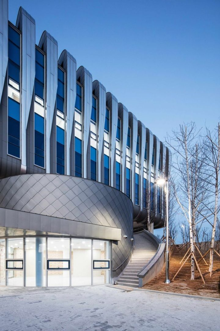 Global Cosmeceutical Center / Architecture and Engineering Group SEON