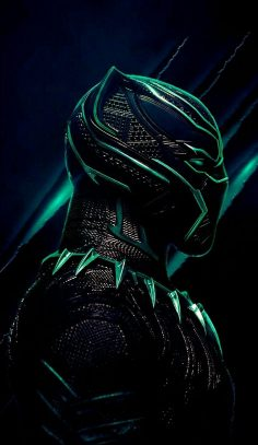 GREEN BLACK PANTHER