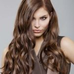 I love this dark hair color with a natural look.