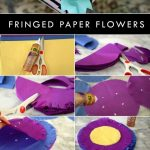 MAKE NICE FLOWERS WITH TISSUE PAPER AND STICKY GLUE FROM ALEENE WITH @AUNTPEACHES!