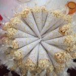 "Popcorn ""Ready to Pop"" favors baby showers. #candies"
