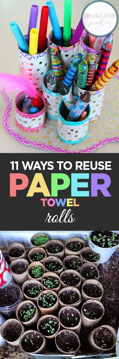 REUSING ROLLS OF PAPER TOWELS, HOW TO REUSE PAPER TOWELS …