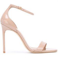 Saint Laurent Amber Ankle Strap 105 Sandals (3,300 …