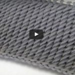 Video, Skewer Knitting Zigzag Preparation Model
