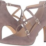 """Vince Camuto """"Neddy"""" taupe leather dress …"""