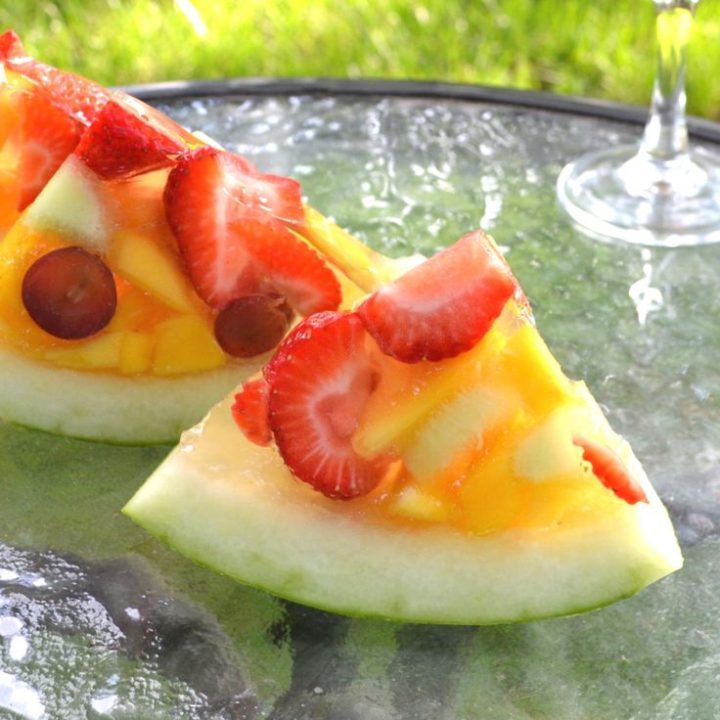 Watermelon Jello Shots feature combination of fresh fruits …