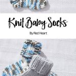 Knitted baby socks Free knitted pattern Baby Hugs medium | Knitting Patterns