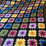 Granny square afghan My mom made one of these in the 60s. This pattern is still beautiful today! | Knitting Patterns