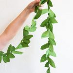 DIY garland paper sheet | Baby Shower