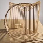 architectural model basswood ramp