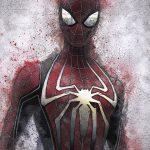 SPIDER-MAN ART PRINT, SPIDER-MAN POSTER