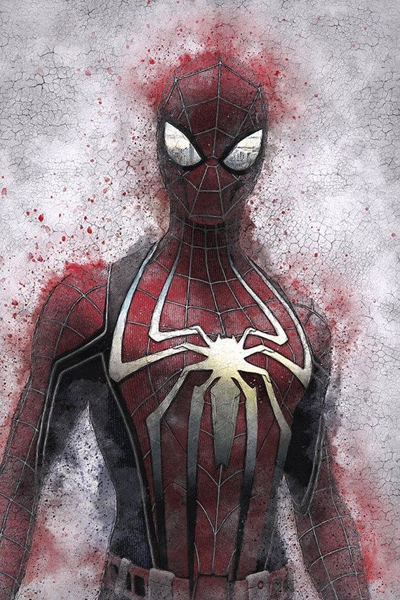 SPIDER-MAN ART PRINT, SPIDER-MAN POSTER