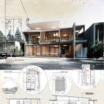 Final architecture study boards