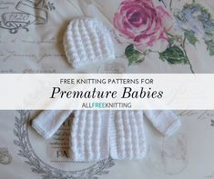 27 Free weave patterns for premature babies | Knitting Patterns