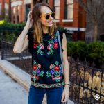 40 DIY embroidered shirts to update your outfit