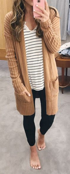 45 Cool and Easy Stripes Outfit to copy now